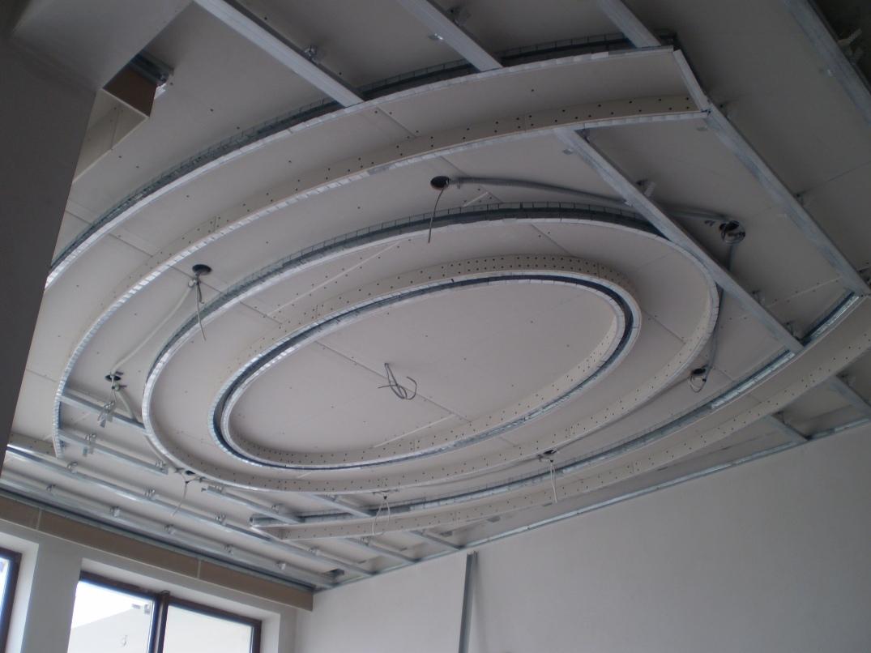 2-х уровневый потолок из гипсокартона своими руками 200